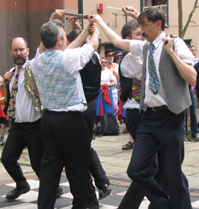 English Rapper sword dancers
