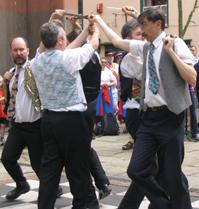 English Rapper sword dancers
